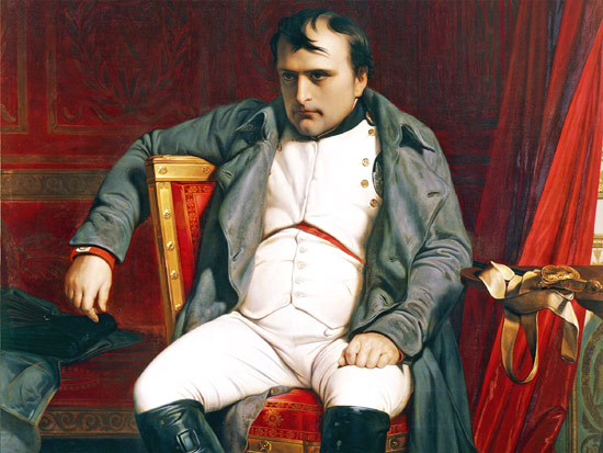 Napoleon Emperor of France disappointed