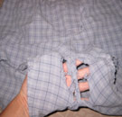 Old boxer briefs with holes