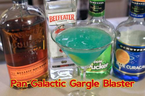 Pan Galactic Gargle Blaster drink