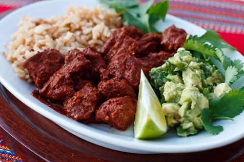 Puerco Pibil with Rice recipe