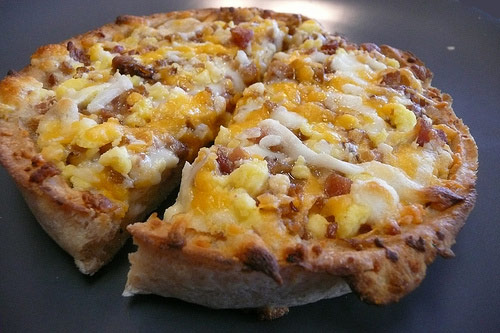Red Baron breakfast pizza