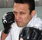Renzo Gracie MMA fighter with gloves on