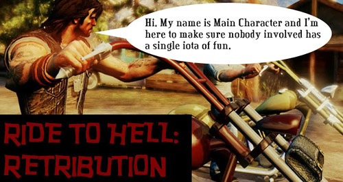 Ride to Hell: Retribution video game