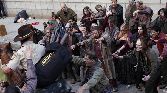 Zombies in The Walking Dead (TV show)