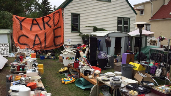 great garage business ideas - Useless Yard Sale You're Invited