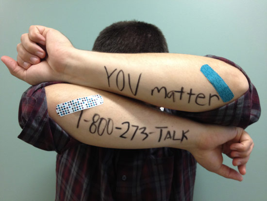 You Matter Suicide Prevention Lifeline (phone number)