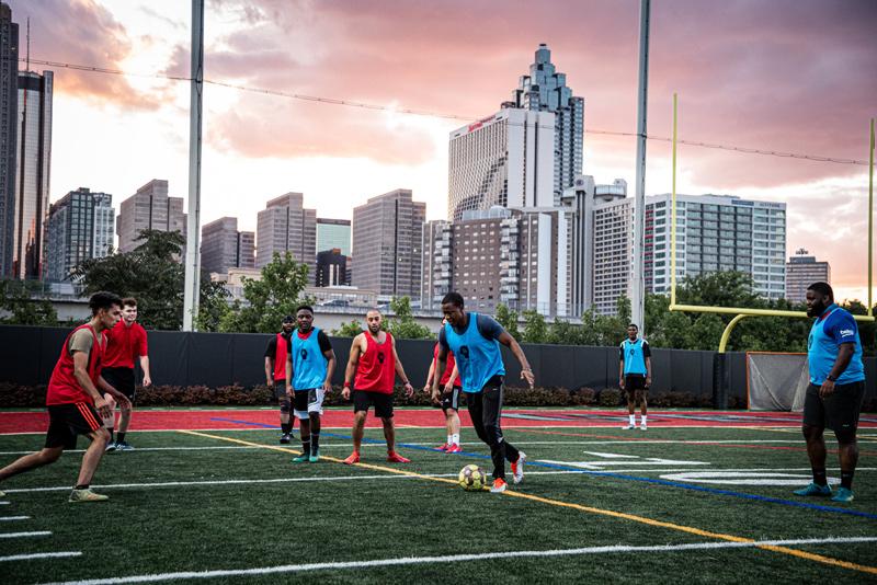 Pickup Soccer in Atlanta