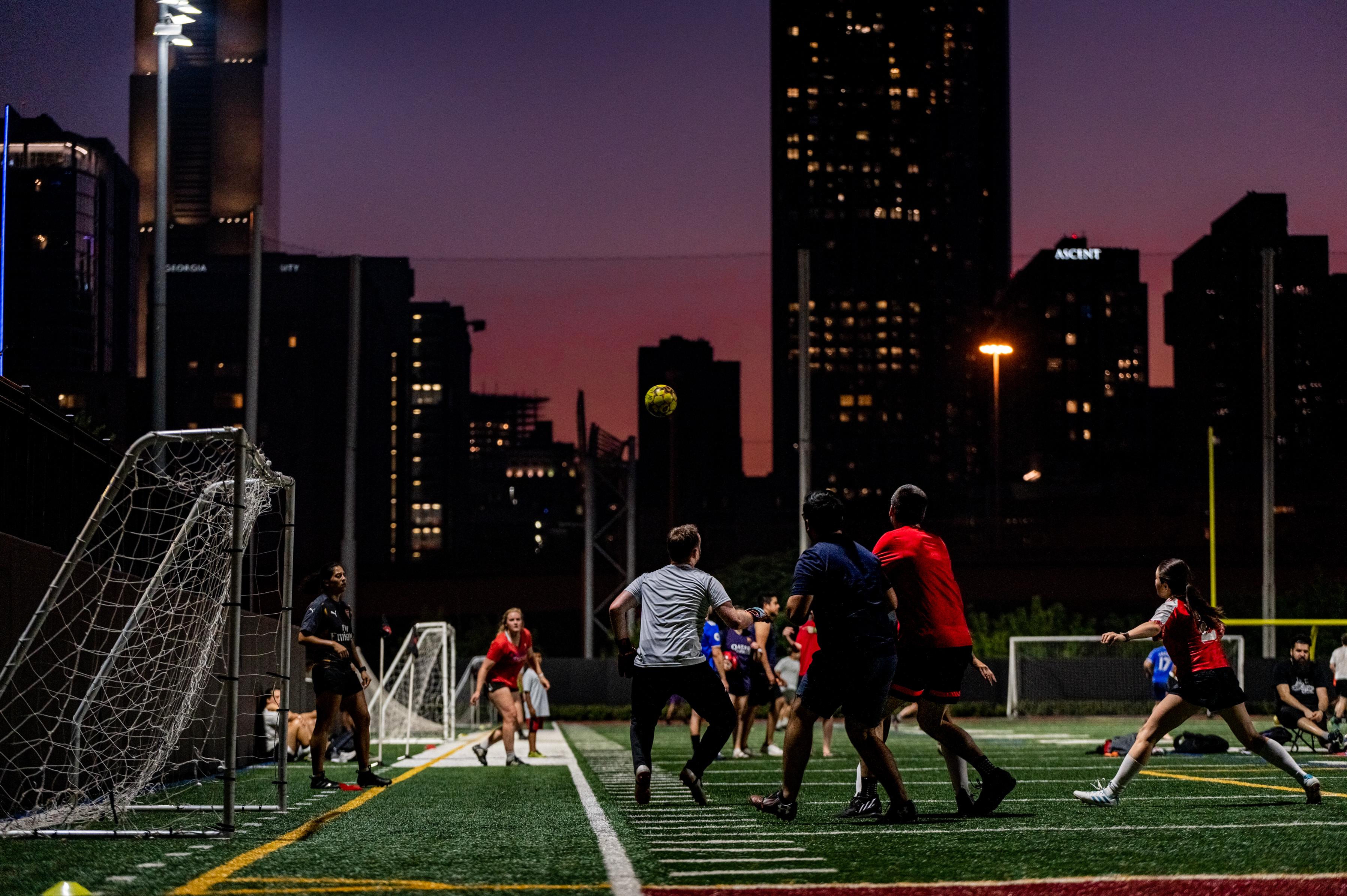 Adult Soccer Leagues in Atlanta