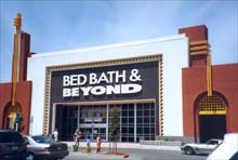 Bed Bath & Beyond, into the wild, blue yonder.