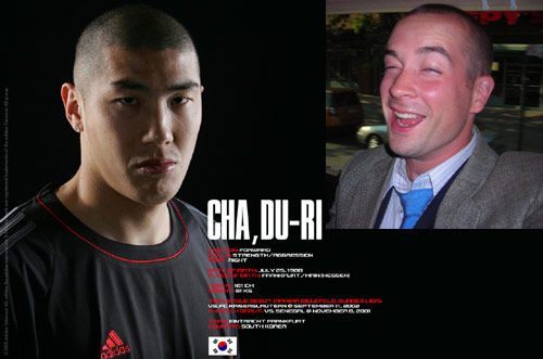 Cha-Du Ri - Korean soccer star