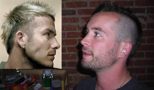 David Beckham - UK soccer star