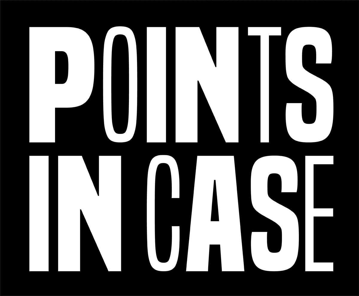 Points in Case