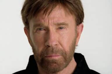 Scared Chuck Norris face