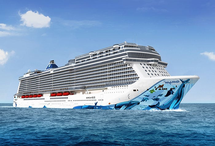Wyland cruise ship