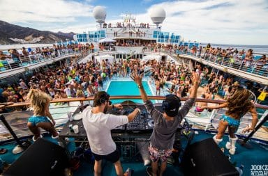 Spring Break cruise ship party