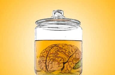 Jar of gross liquid