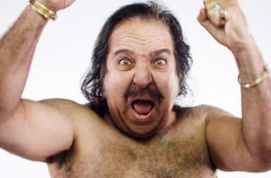 Ron Jeremy screams