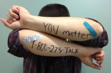 Call Suicide Prevention Lifeline 1-800-273-8255