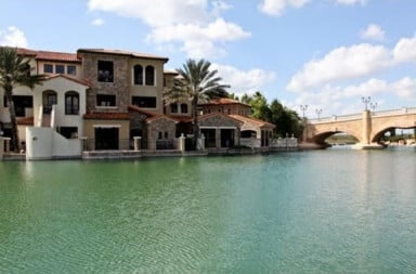 Expensive house on the water