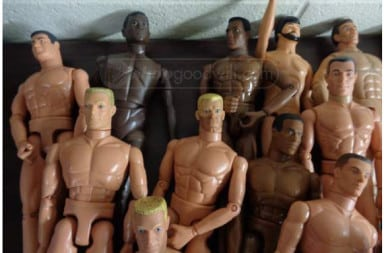 Gay male orgies Barbie dolls