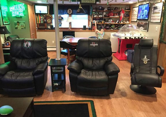 Man Cave Recliner Chairs : I am your father s man cave points in case