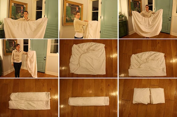 Delicieux How To Fold A Fitted Sheet: Instructions For Couples And Singles | Points  In Case