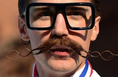 Douchebag with a moustache
