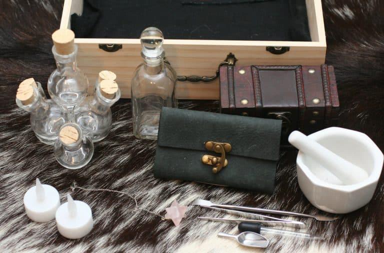 Catholic exorcism kit for testing for the devil