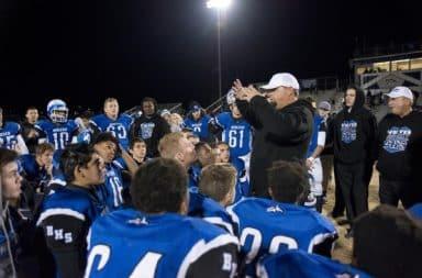 High school football speech