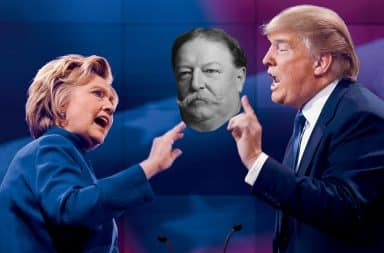 2016 Presidential Debate: Clinton, Trump, Taft
