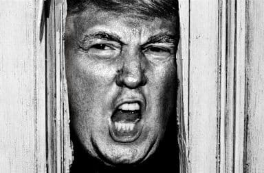 Donald Trump in The Shining