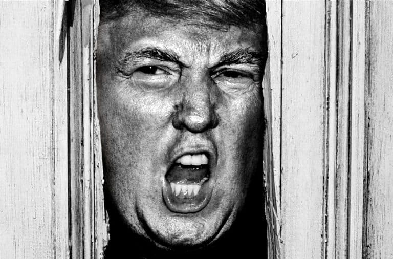 Donald Trump in The Shining