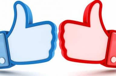 Facebook election likes