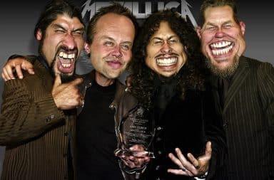 Metallica caricatures