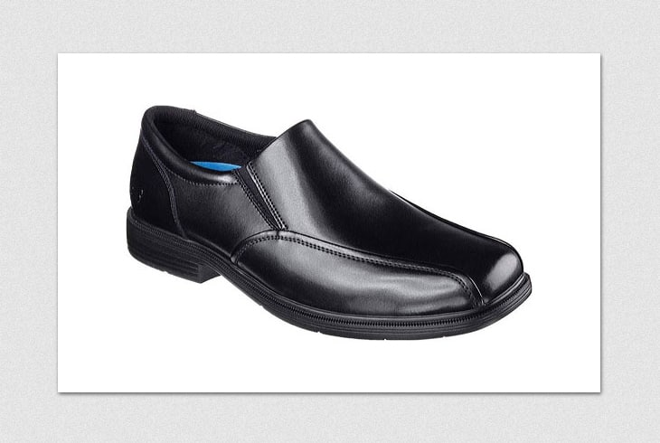Men's size 12 black loafer