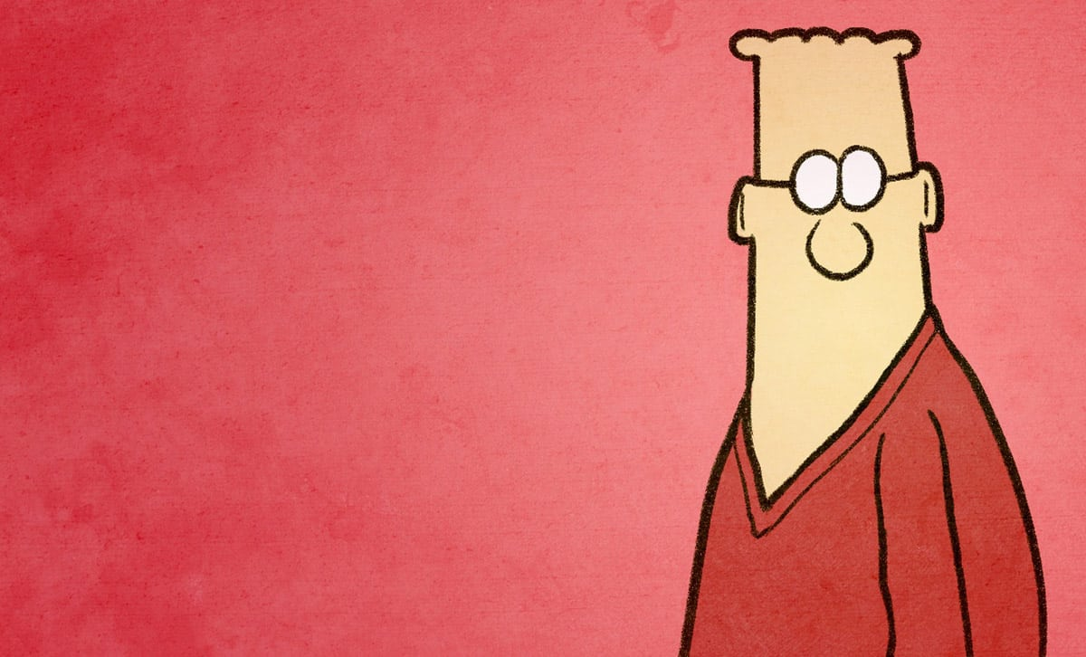 7 Regrets I Have After Creating a Flesh-and-Blood Dilbert
