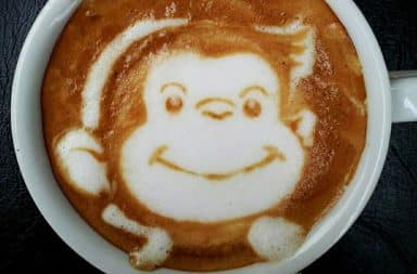 Curious George coffee
