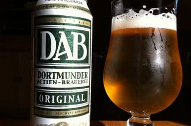 Cheap German beer - DAB Dortmunder
