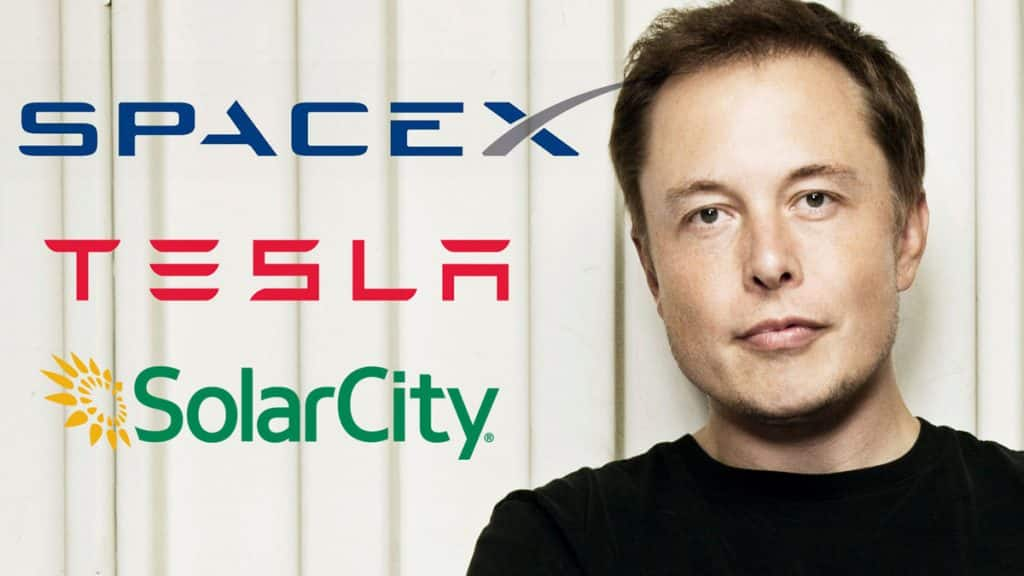 Elon Musk SpaceX, Tesla, SolarCity