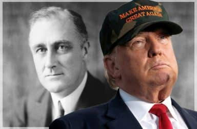 FDR and Donald Trump