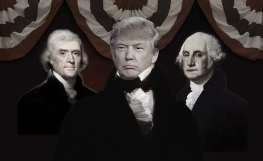 The Founding Fathers on Donald Trump
