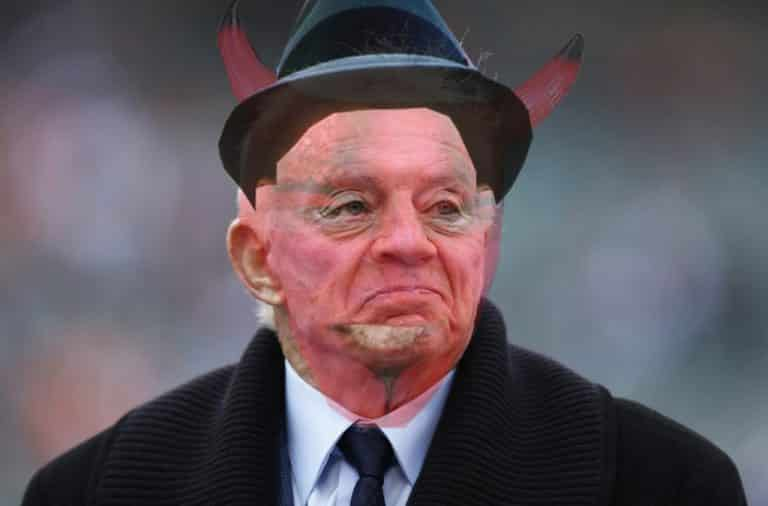 Jerry Jones is the Devil