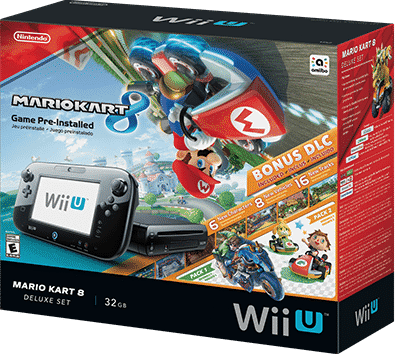 Mario Kart 8 video game box