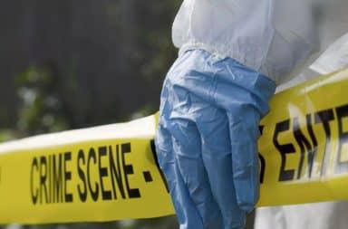 Crime scene glove