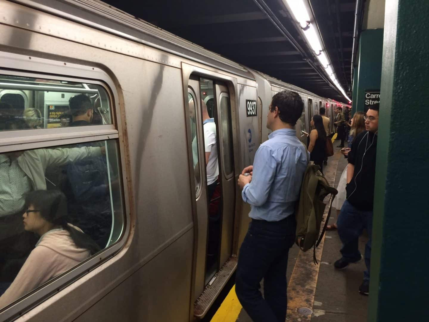 Monologue: Why You Should Join This Packed Subway Car