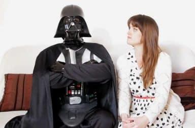 Darth Vader speed dating women