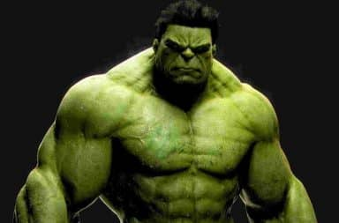 Incredible Hulk older and green