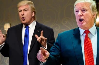 Alec Baldwin and Donald Trump as played on SNL