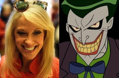 Kellyanne Conway and The Joker from Batman
