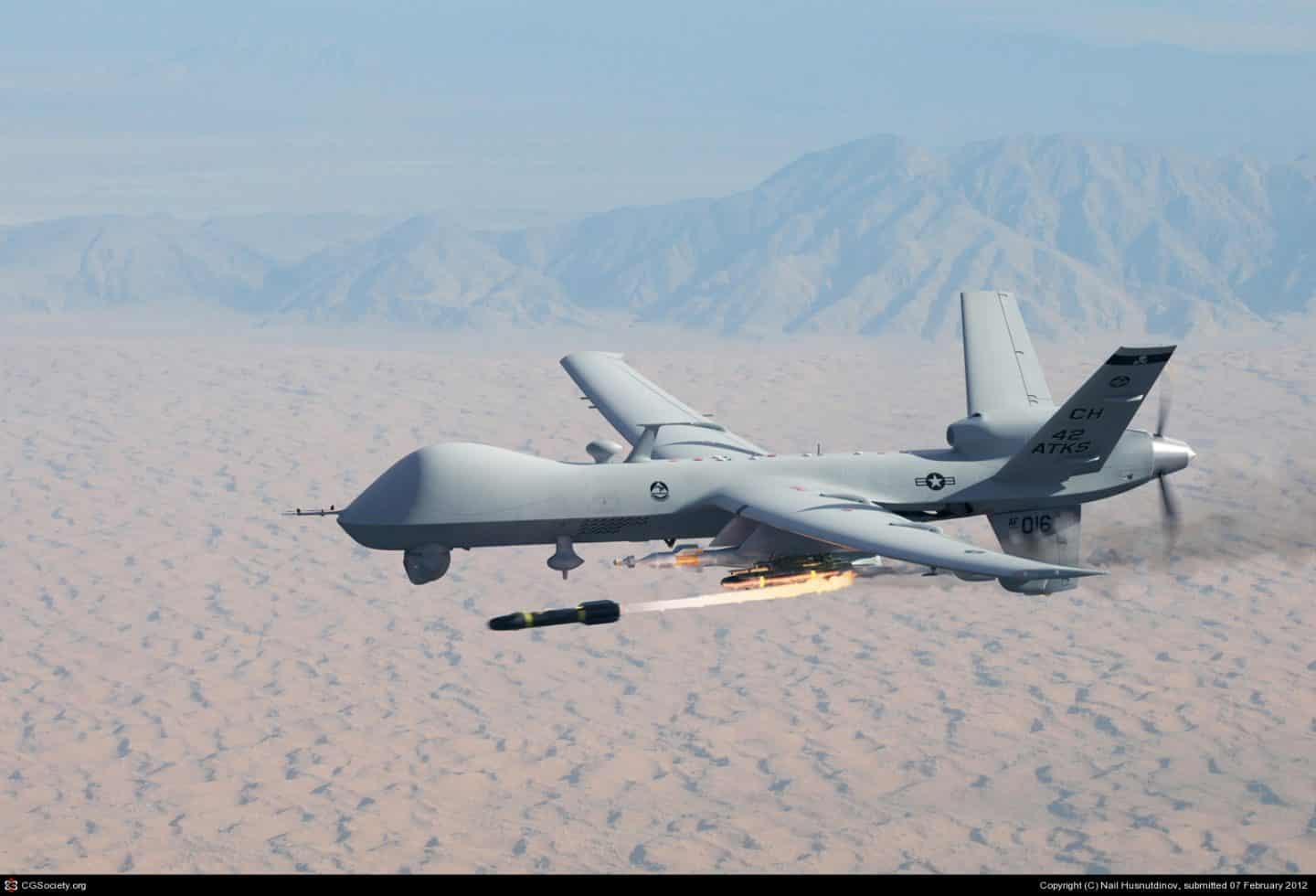 My New Stepdad Is A US Military Predator Drone